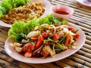 Seafood dish-Silom Thai Prahran-Speed Food