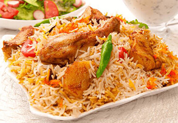 Hyderabad Chicken Biryani