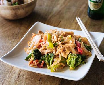 Pad Kee Mao Noodles